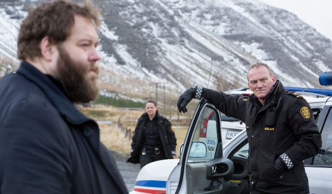 "The series section of the 61st Nordische Filmtage Lübeck focuses on Crime. Season two of the successful Icelandic series ""Trapped"" will be shown on the big screen in Lübeck. © Icelandic Film Centre"